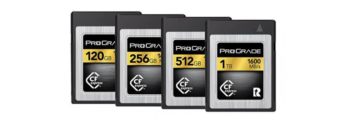 ProGrade cfexpress cards